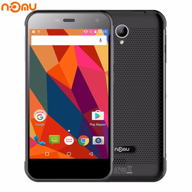 NOMU S20 5.0 inch HD Quad Core 4G Smartphone 3G RAM 32G ROM MTK6737T Lte 3000mAh 13.0MP 1280x720 Waterproof Mobile Phone