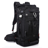 Brand Large Capacity Travel Backpack Shoulder Bag Men Mountaineering Bags 40L Oxford Cloth Lockable Waterproof And