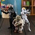 18 CM Star Wars Maestro Yoda Jedi Knight Acción PVC Figura de Colección Modelo de Juguete movible Conjunto grande Regalo de La Muñeca