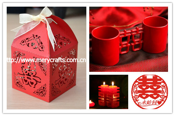 Festive & Party Supplies Strict 50 Pieces Chinese Style red Double Happiness Sedan Chair Wedding Favor Boxes Party Gift Favor Candy Box