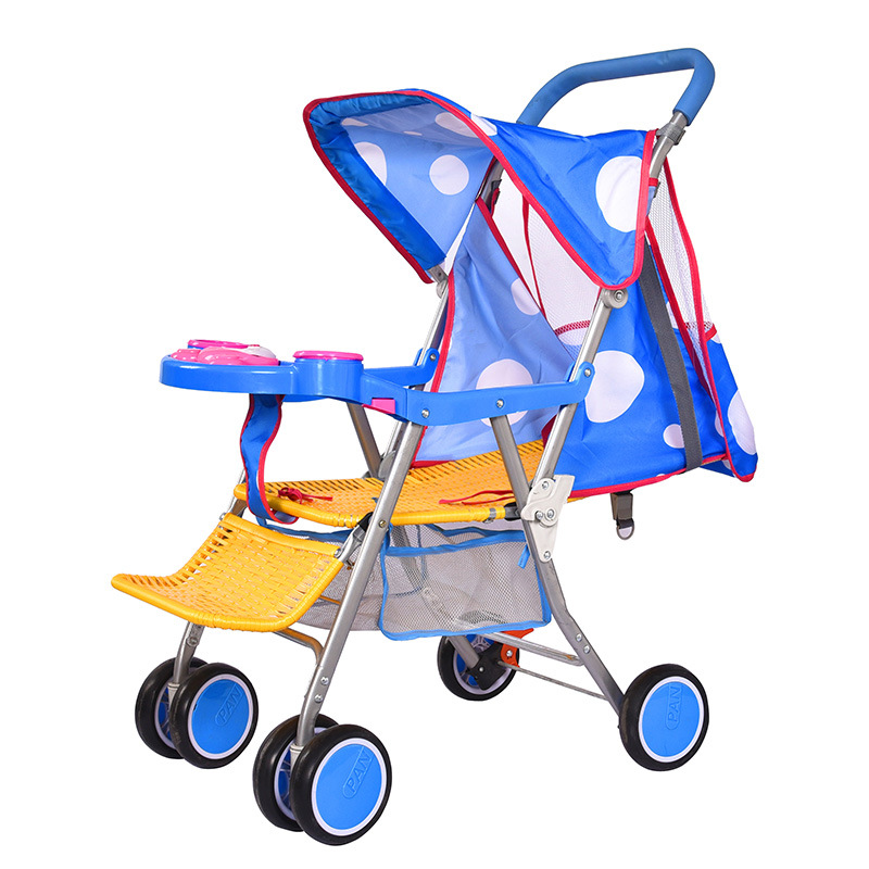 Summer Rattan Folding Lightweight Portable Baby Stroller Umbrella Car Baby Trolley for Child Travel Pram Buggy Pushchair 6 M~3 Y travel system airplane folding baby stroller umbrella high landscape pushchair buggy trolley pram portable shoulder bag suitcase