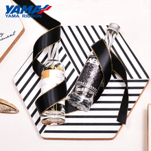 YAMA Gold Edge Satin Ribbon 0.25-1 inch 6 9 16 22 25 mm 100yards/lot for Diy Dress Accessory Wedding Decoration Gifts