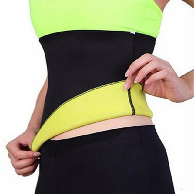 S-3XL Fitness Sport Sweating Waist Band Gym Fitness Sports Exercise  Waist Support Pressure Slimming Item Body Building Belt