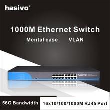 16 poort RJ45 Gigabit Enthernet schakelaar lan switch ethernet switch