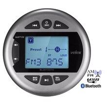 Radio Digital con Bluetooth para barco, reproductor MP3 estéreo marítimo a prueba de agua, FM, AM, USB, para ATV, UTV, SPA, motocicleta y Yate