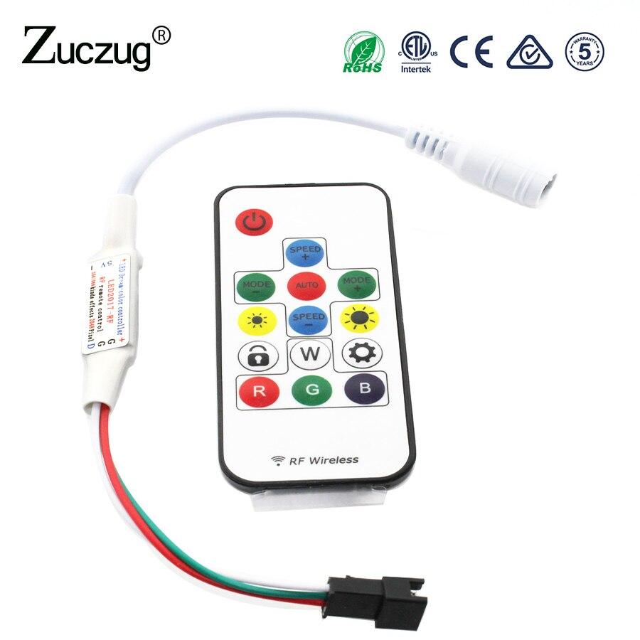 dc-5v-led-rgb-controller-14key-mini-ws2812b-rgbw-rgbww-control-remote-for-light-sp103e-2835-5050-5630-striplight-magic-home