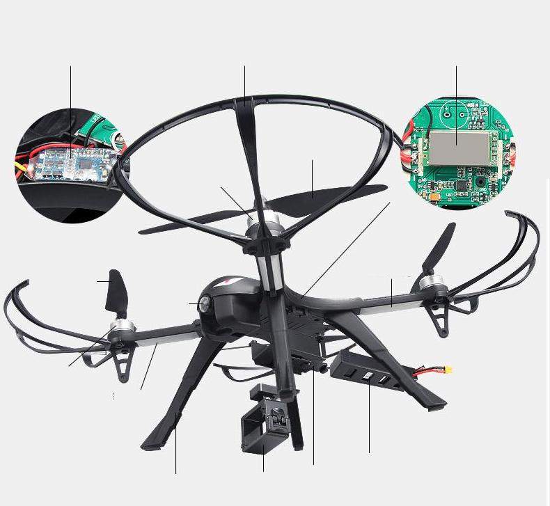 B3 Bugs 3 RC Quadcopter Brushless 2.4G 6-Axis Gyro Drone with Camera Mounts for Gopro Camera free shipping 4