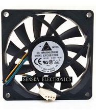 Novo para delta efc0812db 8 cm 80mm 8015 8*8*1.5 cm 80*80*15mm 12 v 0.5a 4-wire pwm ventilador de refrigeração
