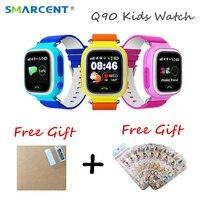 Tüketici Elektroniği'ten Akıllı Saatler'de Çocuk çocuk GPS saati Akıllı bebek İzle ile WIFI Konumu SOS Çağrı Tracker Çocuklar için Güvenli Anti kayıp Monitör Cihazı