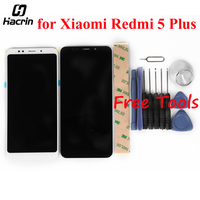 For Xiaomi Redmi 5 Plus LCD Display Touch Screen Glass Panel Digitizer Assembly Screen Replacement For