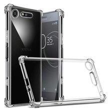 For Sony Xperia XZ3 XA2 Plus XA XZs XZ1 XZ2 XZ XA1 L1 L2 Compact Premium Crystal Clear Shockproof Soft Silicone TPU Case Cover for sony xperia l1 l2 xa xa1 xa2 ultra plus xz3 xz2 xz1 compact silk leather window flip book case for sony xz premium xzs cover