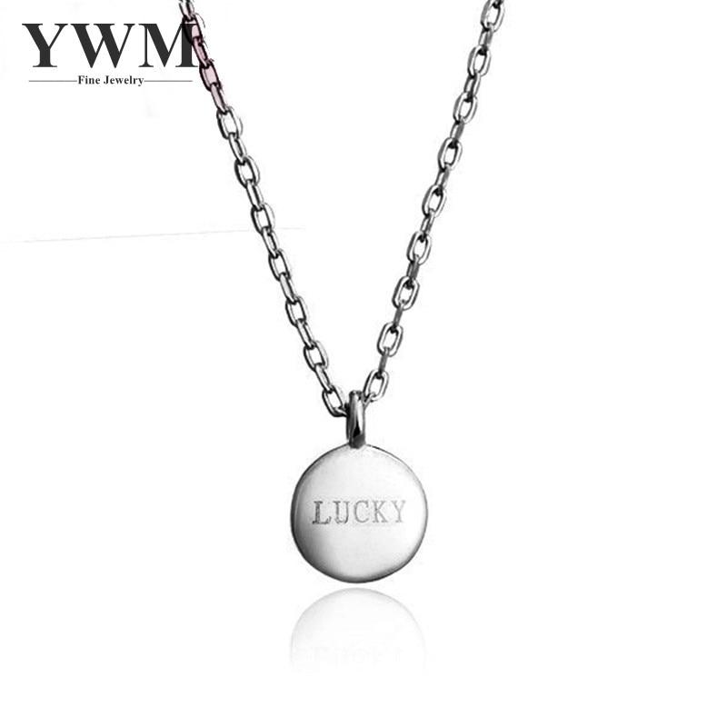 YWM QAZANLARI 100% 925 Sterling Gümüşü LUCKY Noxud Klavikli - Gözəl zərgərlik