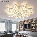 Controle remoto escurecimento conduziu a lâmpada luzes de teto para sala de estar quarto deckenleuchten modern led luzes de teto luminária