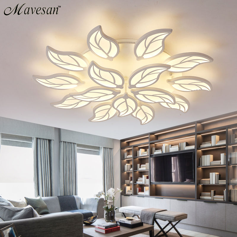 Buy Remote Control Dimming Led Ceiling Lights Lamp For Living Room Bedroom