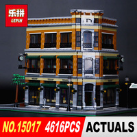 New LEPIN 15017 4616Pcs Starbucks Bookstore Cafe Model Building Kits Blocks Bricks Toy Gift Educational Children