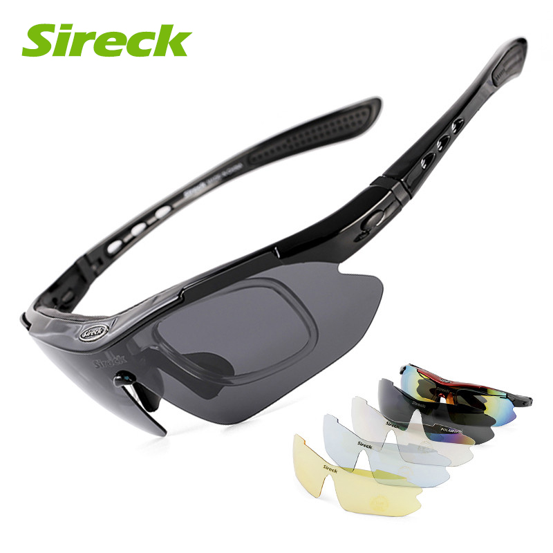 Sireck Sports Men Polarized Cycling Glasses UV400 Sunglasses Fishing Driving Bike Bicycle Eyewear Goggles Oculos Ciclismo 5 Lens high speed usb 3 0 to 2 5 inch sata converter adapter cable hdd ssd hard drive disk power adapter cable wire cord for hard disk