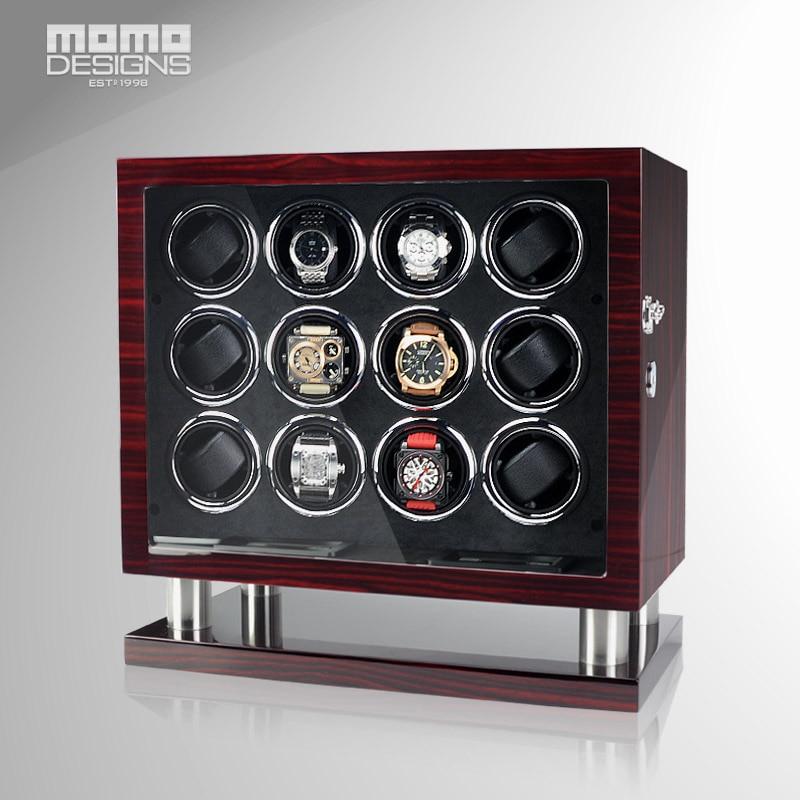 New Automatic Watch Winder Safe Box 12