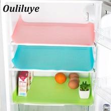 4 PCS/Lot EVA Cleaning Pad For Table Refrigerator Antibacterial Moisture Antifouling Waterproof Fridge Mat Kitchen Cleaning Tool
