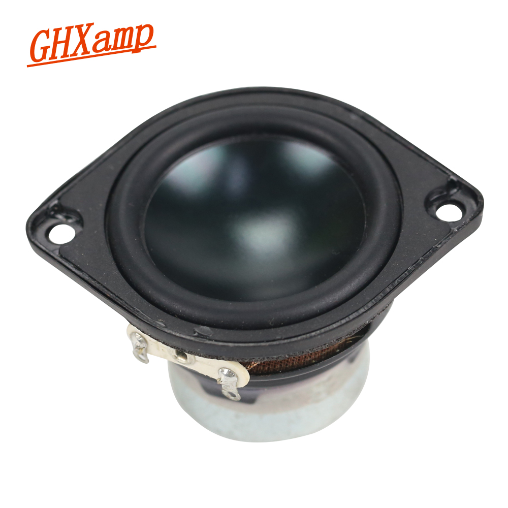 GHXAMP 1.5 INCH 8W Full Range Speaker Good Vocals Sound For Bluetooth Speakers mini Ultra-toxic Loudspeaker 6OHM 90DB