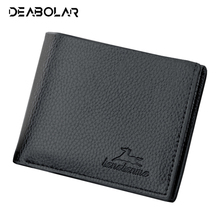 Casual Men's Solid Luxury Wallets PU Wallet Two Folding Male Purse Credit Card Holder Solid Color Short Slim Purse Money Wallet fashion new solid color stripes men wallets leisure cross vertical 3 fold brown id credit card holder purse wallet 04
