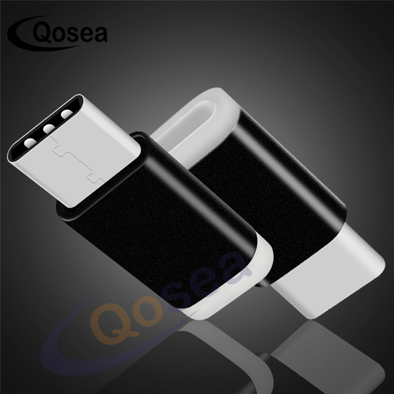 Qosea [2 упак.] Тип-C адаптер Micro USB адаптер конвертер Quick Charge преобразует Тип переменного тока быстрого для молнии samsung S8 ...
