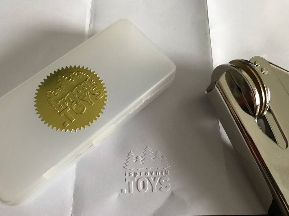 Design Your Own Embosser Stamp / Custom Embosser Seal For Personalized / Wedding Seal Design With Your Logo Or My Logo