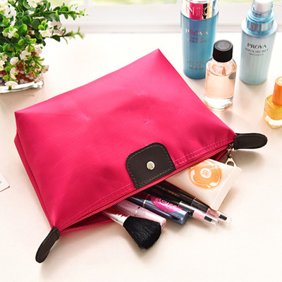 Insert Bag Women Nylon Travel Insert Organizer Handbag Purse Large Liner Lady Makeup Cosmetic Bag Cheap Female Tote 1 Pcs