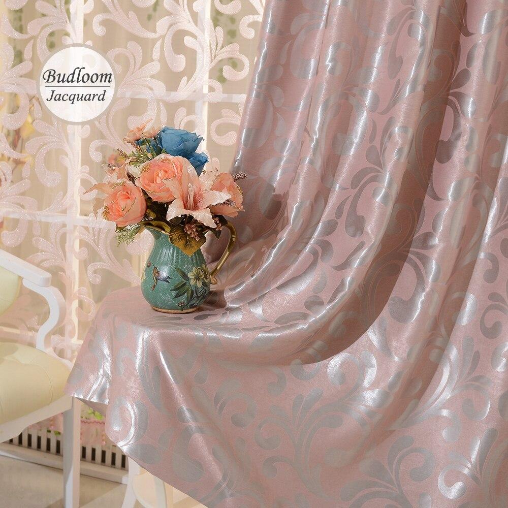 Online kopen wholesale licht roze gordijnen uit china licht roze ...