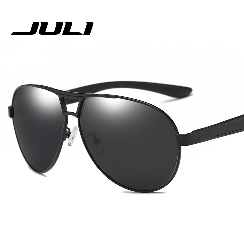 214d06d879 JULI Men Aluminum Polarized Sunglasses Men Classic Brand Sunglasses Police  Eyewear Coating Mirror Sun Glasses Driving