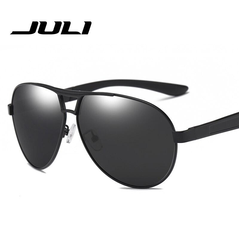 ff73525e03 Gafas de sol polarizadas de aluminio para hombre, gafas de sol de marca  clásica, gafas de policía, gafas de sol con revestimiento de espejo para  conducir ...