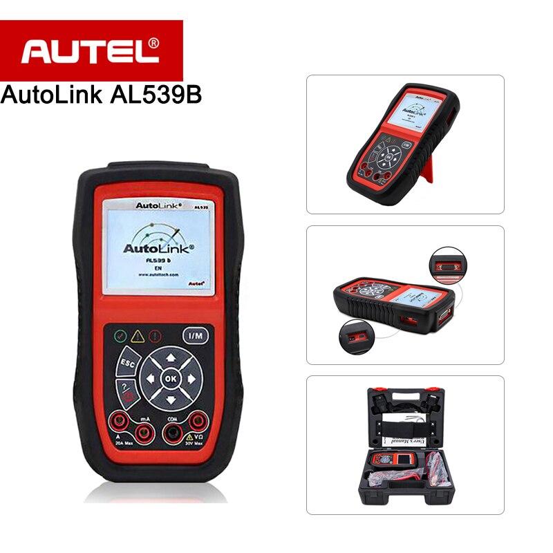 Autel Autolink AL539B OBDII Scanner Electrical font b Diagnostic b font font b Tool b font