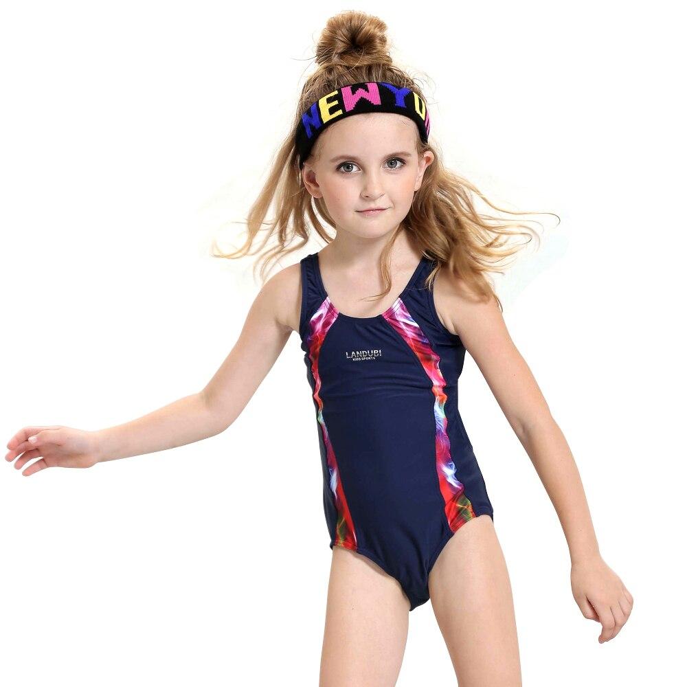 nuovo stile 2017 bambini bella di un pezzo costumi da bagno delle ragazze di marca dei