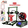 Новый принтер E10 Anet 3d принтер большой размер печати 220*270*300 мм офлайн печать низкая шумная Cura настольный 3D DIY комплект принтера
