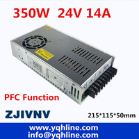 PFC function 350w switching power supply 24v 14A driver source switching power supply ACDC for CCTV camera LED Strip SP 350 24