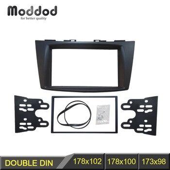 Duplo 2 Din Fáscia Rádio Do Carro para Suzuki Swift 2011 + CD DVD Painel Stereo Traço Instalação Guarnição Kit Quadro painel tablier