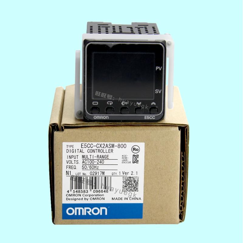 Original Authentic OMRON Electronic Thermostat Digital Regulator  E5CC-RX2ASM-800 E5CC-QX2ASM-800/880/802/801/CX2ASM-800