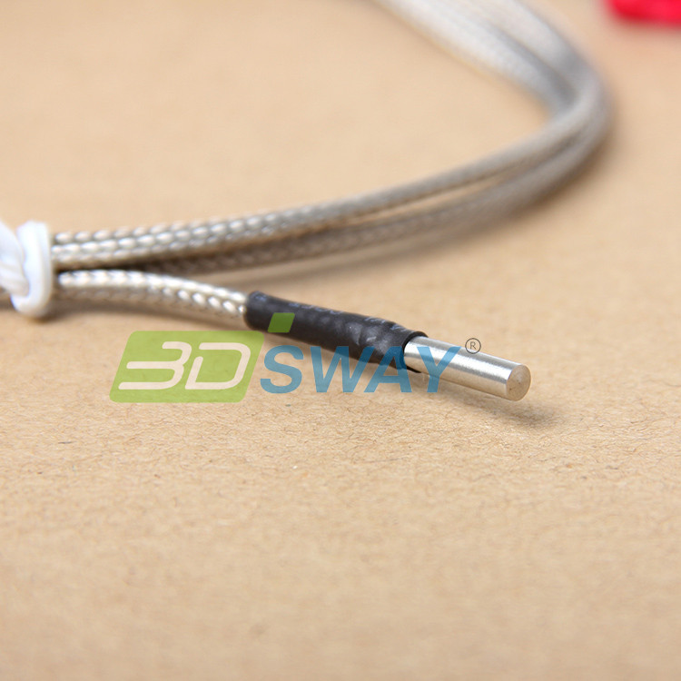 3DSWAY 3D Printer Accessories 5pcslot  K Type Thermocouple 3D Printer Fitting Temperature Sensor 3151000 (1)
