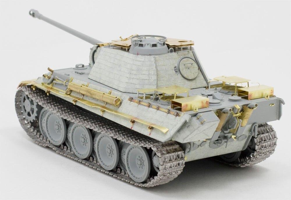 1/35  Panther G Detail Set For Dragon Panther G Smart Kits (no Tank)