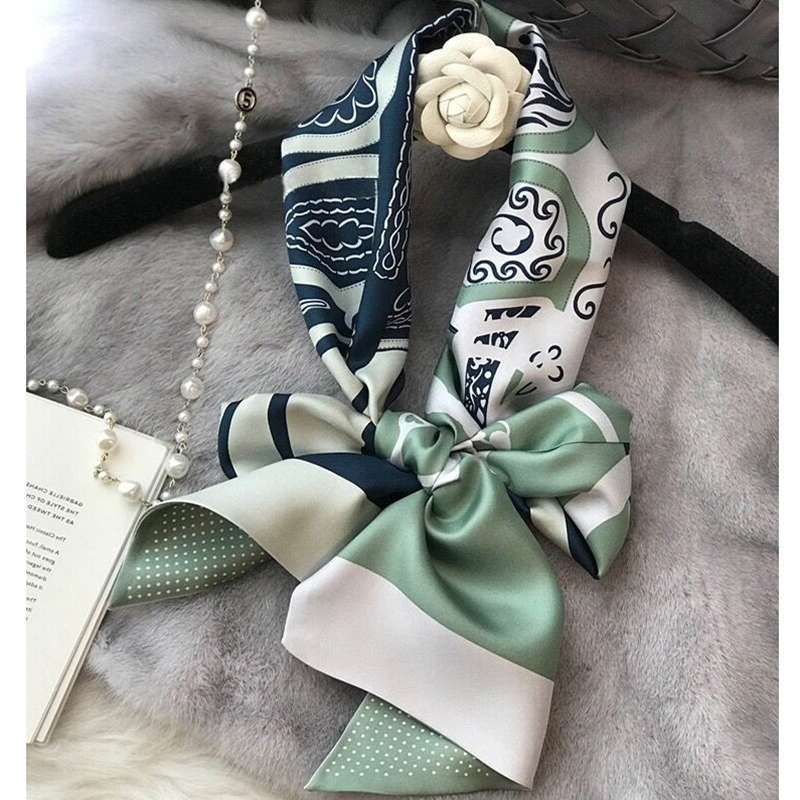 Top Grade Long 100% Silk Scarf Wraps Neckerchief For Women Ladies Perfect Gifts