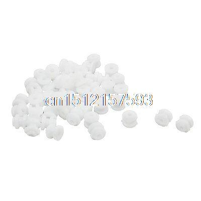50Pcs Plastic Spindle Belt Pulley 6mmx5mm for 2mm Robot Motor Drive Shaft