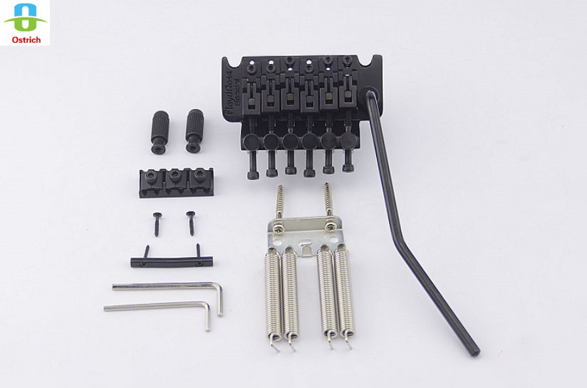 Floyd Rose Special Series Tremolo System Bridge FRTS2000 Black genuine original floyd rose 5000 series electric guitar tremolo system bridge frt05000 black nickel cosmo without packaging