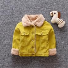 Boys Jackets Coats Clothing Outerwear Thicken Autumn Winter Cotton Children Bibicola