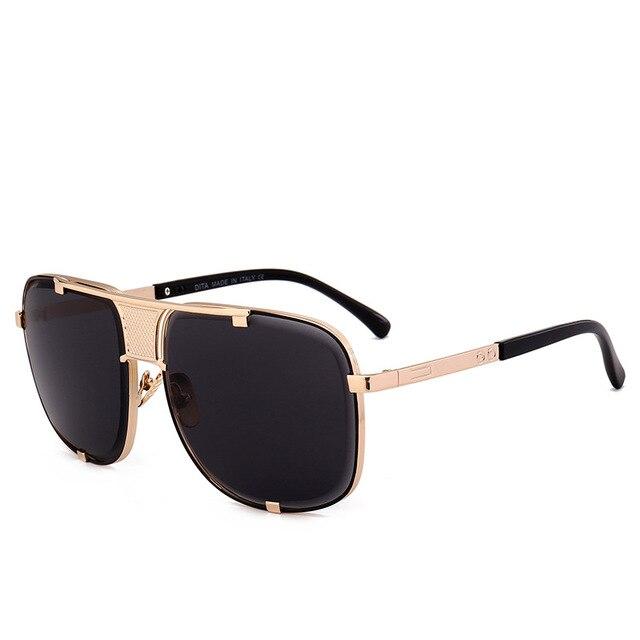 9c1b7f5b3a Vazrobe (145mm) oversized gafas de sol hombres mujeres oro D cuadrado gafas  de sol