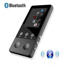 HIFI Bluetooth4.0 MP3-плеер 1.8 дюймов TFT Экран MP3 плеер с голосом Регистраторы, шагомер, видео, fm Радио аудио плеер