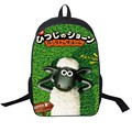 3D Kids School Bag Boys Adventure Time Bookbag Men Travel Bagpack,Women and Shaun the Sheep Shoulder Bag Student Schoolbag