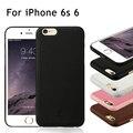 Baseus para iphone 6 s 6 comfy slim series pu cuero cajas del teléfono con recubrimiento duro bolsa de shell case cover para apple iphone 6 6 s case