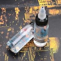 10 pc 30 ml Frasco de Tinta de Tatuagem Profissional Agente de Mistura De Tinta Fixação Suppies Para Pigmentos de Tatuagem Tinta de Tatuagem Mais Fino