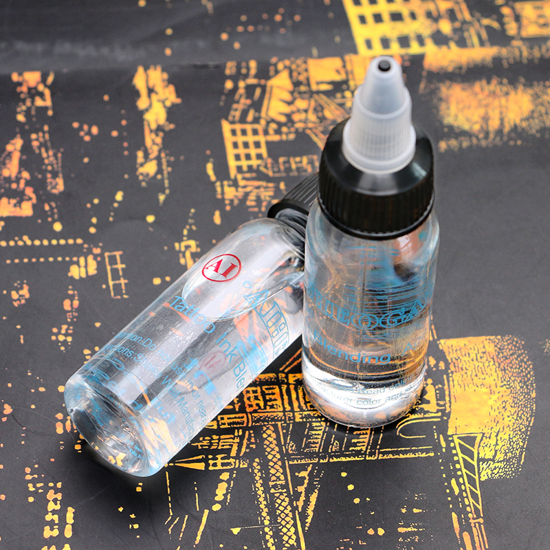 10pc Professional 30 ml Bottle Tattoo Ink Blending Agent For Ink Fixing Tattoo Suppies For Pigments Tattoo Ink Thinner10pc Professional 30 ml Bottle Tattoo Ink Blending Agent For Ink Fixing Tattoo Suppies For Pigments Tattoo Ink Thinner