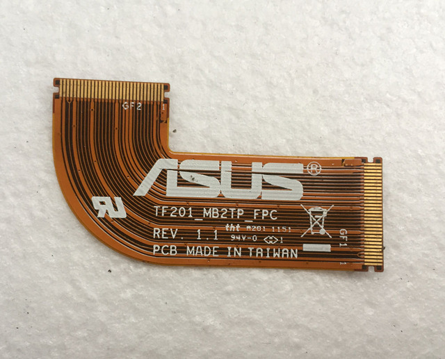 For Asus Eee Pad Transformer Prime TF201 TF201_MB2TP_FPC REV. 1.1 Mainboard to Touch screen connector Flex ribbon cable