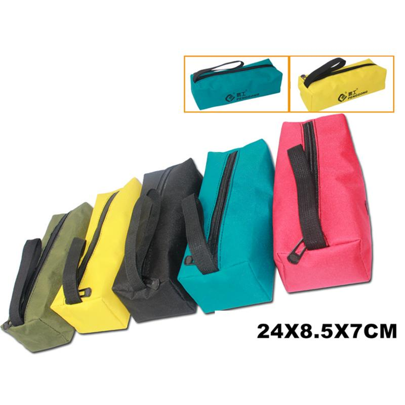 Electrician Wrist Hand Tool Belt Storage Bag Waterproof Canvas Bag 5 Colors